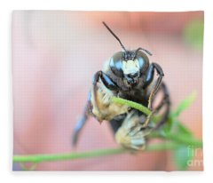 Bee Busy Fleece Blanket