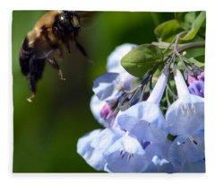 Bee Delight Fleece Blanket