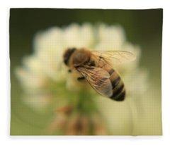 Bee Lives Matter Fleece Blanket