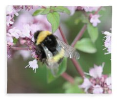 Bee Wings Fleece Blanket