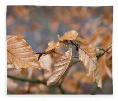 Beech Garland 3 Fleece Blanket