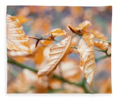 Beech Garland Fleece Blanket