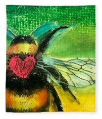 Beehave Fleece Blanket