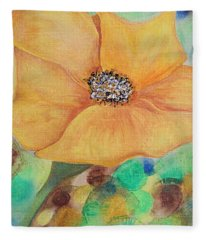 Bees Delight Fleece Blanket