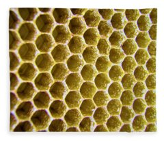 Bee's Home Fleece Blanket