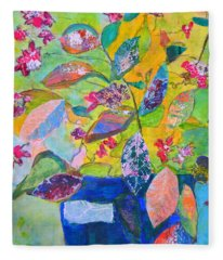Begonias Fleece Blanket