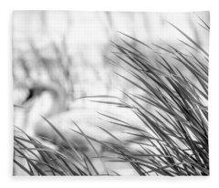 Behind The Grass Fleece Blanket