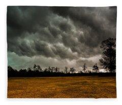 Behind The Tornado Fleece Blanket