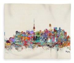 Beijing Fleece Blankets