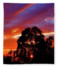 Being There Fleece Blanket