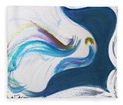 Beit Breathe And Meditate Fleece Blanket