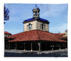 Belfry Of Revel City Fleece Blanket