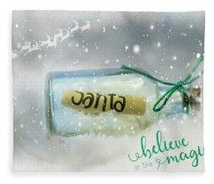 Believe Fleece Blanket