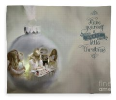 Believe In The Magic Of Christmas Fleece Blanket