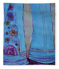 Bell Bottoms Fleece Blanket