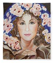 Bella Italian American Girl.           From The Attitude Girls  Fleece Blanket