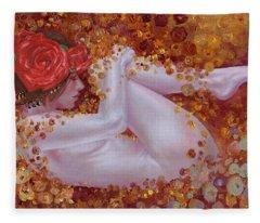 Bella Rose Fleece Blanket