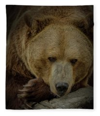 Bella The Bear Fleece Blanket