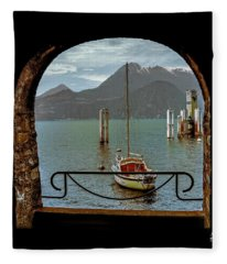 Bella Varenna - For Print Or Wrapped Canvas Fleece Blanket