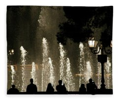 Bellagio Water Show Fleece Blanket
