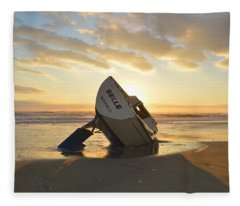 Belle At Sunrise Fleece Blanket