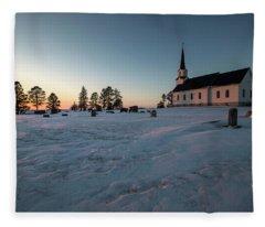 Belleview Sunset  Fleece Blanket
