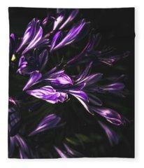 Bells And Flowers Fleece Blanket