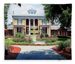Belmont Mansion Fleece Blanket
