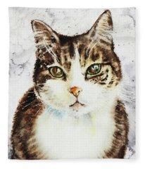 Beloved Cat Fleece Blanket