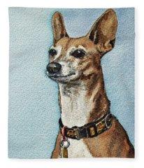 Beloved Dog Fleece Blanket