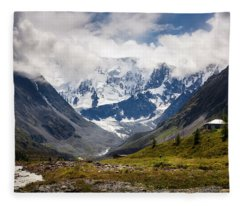 Belukha Mountain. Altay. Russia Fleece Blanket