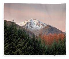 Ben Lui Sunrise Fleece Blanket