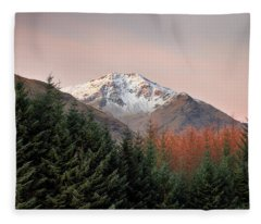Ben Lui Sunrise Fleece Blanket