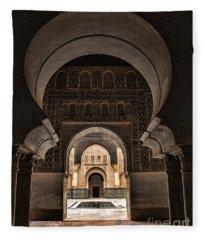 Ben Youssef IIi Fleece Blanket
