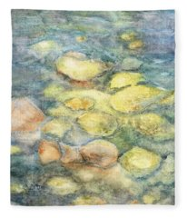 Beneath The Surface Fleece Blanket