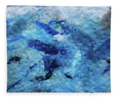 Beneath The Waves Fleece Blanket