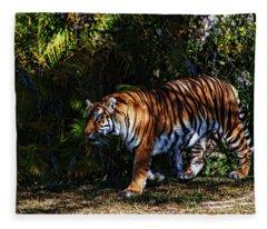 Bengal Tiger - Rdw001072 Fleece Blanket