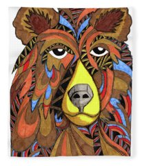 Benjamin Bear Fleece Blanket