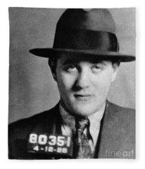 Benjamin Bugsy Siegel Fleece Blanket