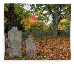 Benjamin Butler Grave Fleece Blanket