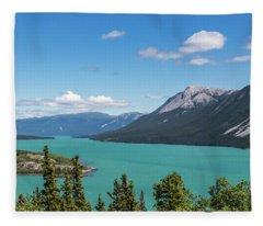 Tagish Lake Fleece Blanket