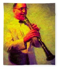 Benny Goodman Fleece Blanket