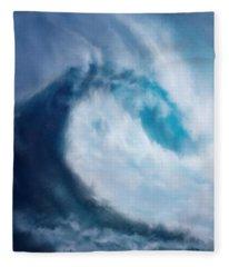 Bering Sea Fleece Blanket