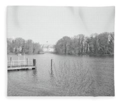 Berlin Lake Fleece Blanket