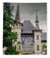 Berne Historical Museum Fleece Blanket