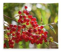 Berry Nice Fleece Blanket