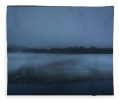 Berry Pond Twilight Fleece Blanket