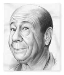 Bert Lahr Fleece Blanket