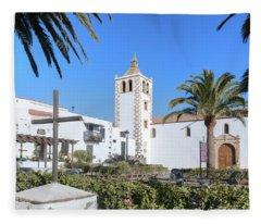 Betancuria - Fuerteventura Fleece Blanket