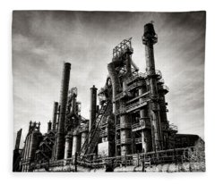 Bethlehem Steel Fleece Blanket